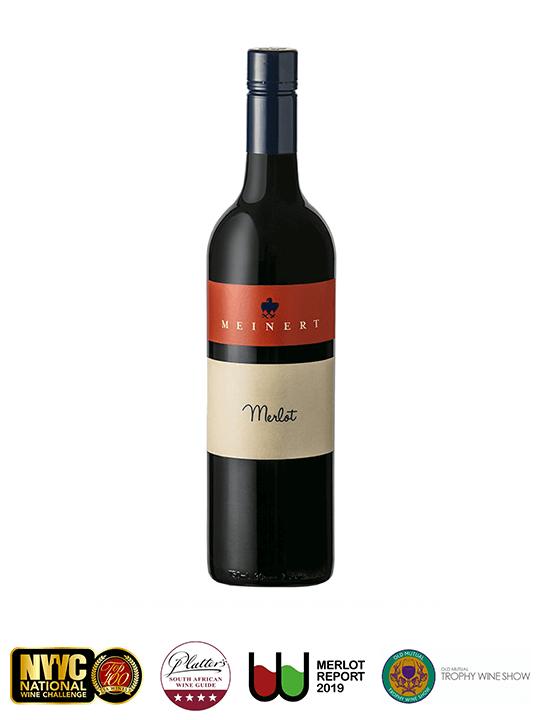 Meinert Merlot with Wine Awards