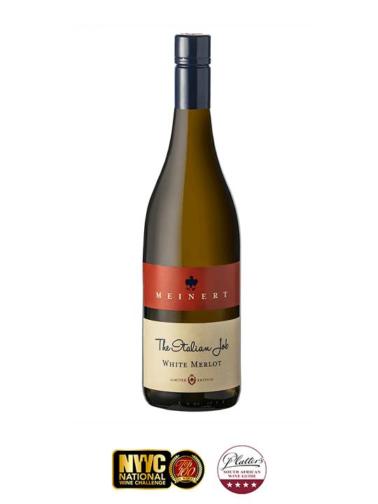 Meinert White Merlot with Wine Awards